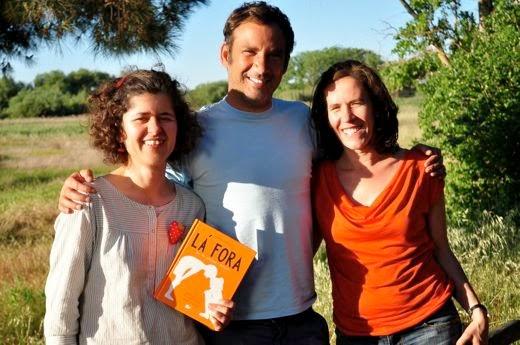 Maria Ana Peixe Dias, Bernardo Carvalho e Inês Teixeira do Rosário. Foto: Planeta Tangerina
