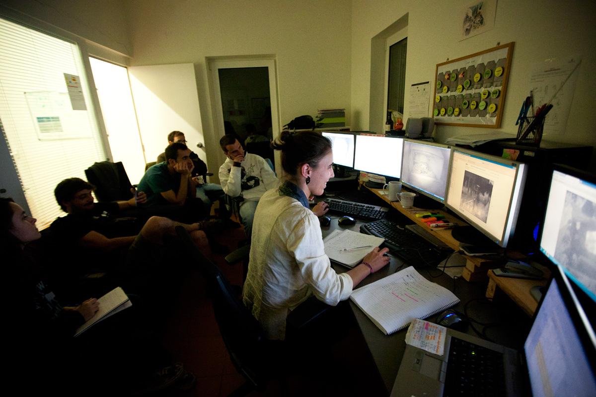 Sala de videovigilancia