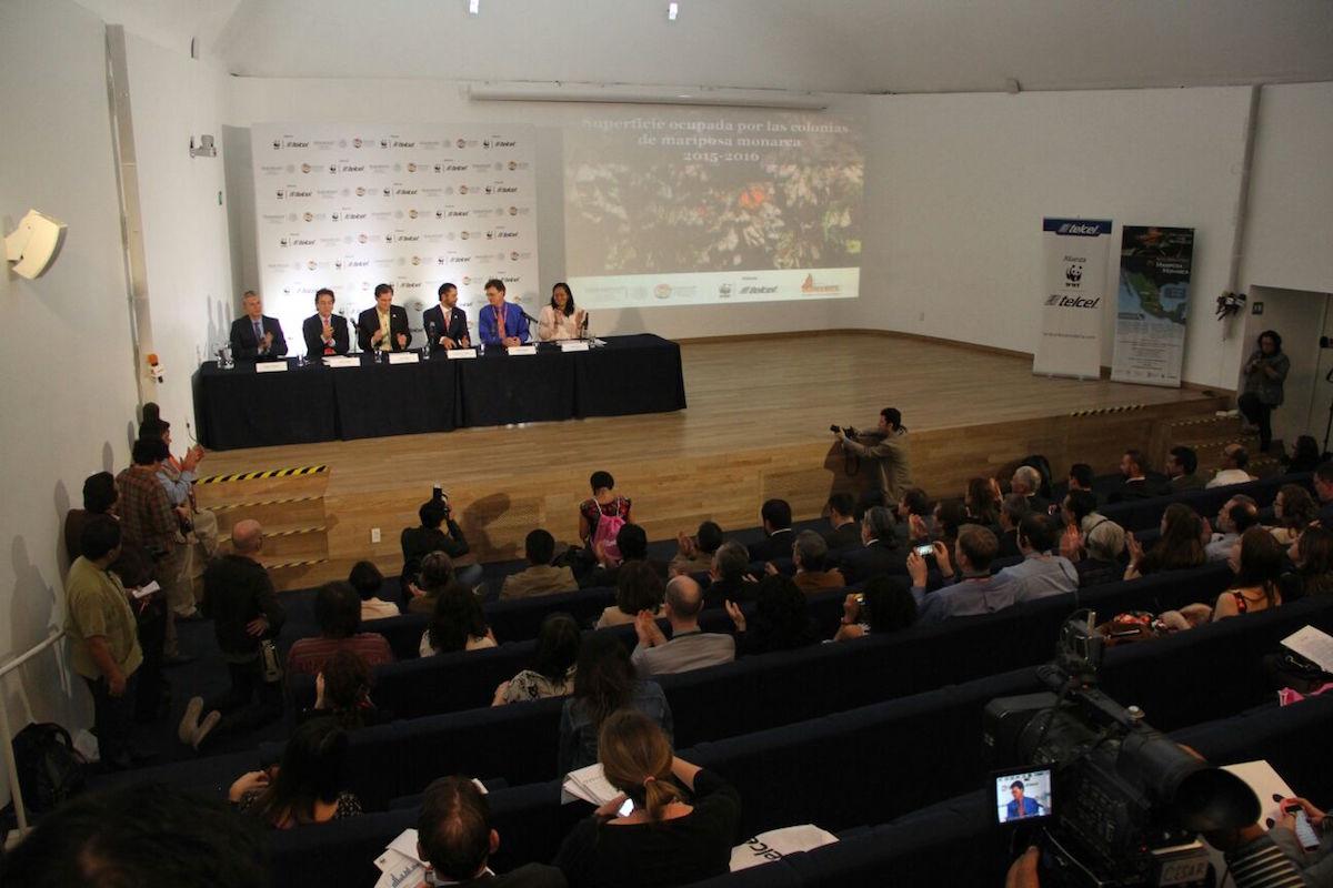 Conferência de apresentação dos resultados dos censos, a 26 de Fevereiro. Foto: Conanp