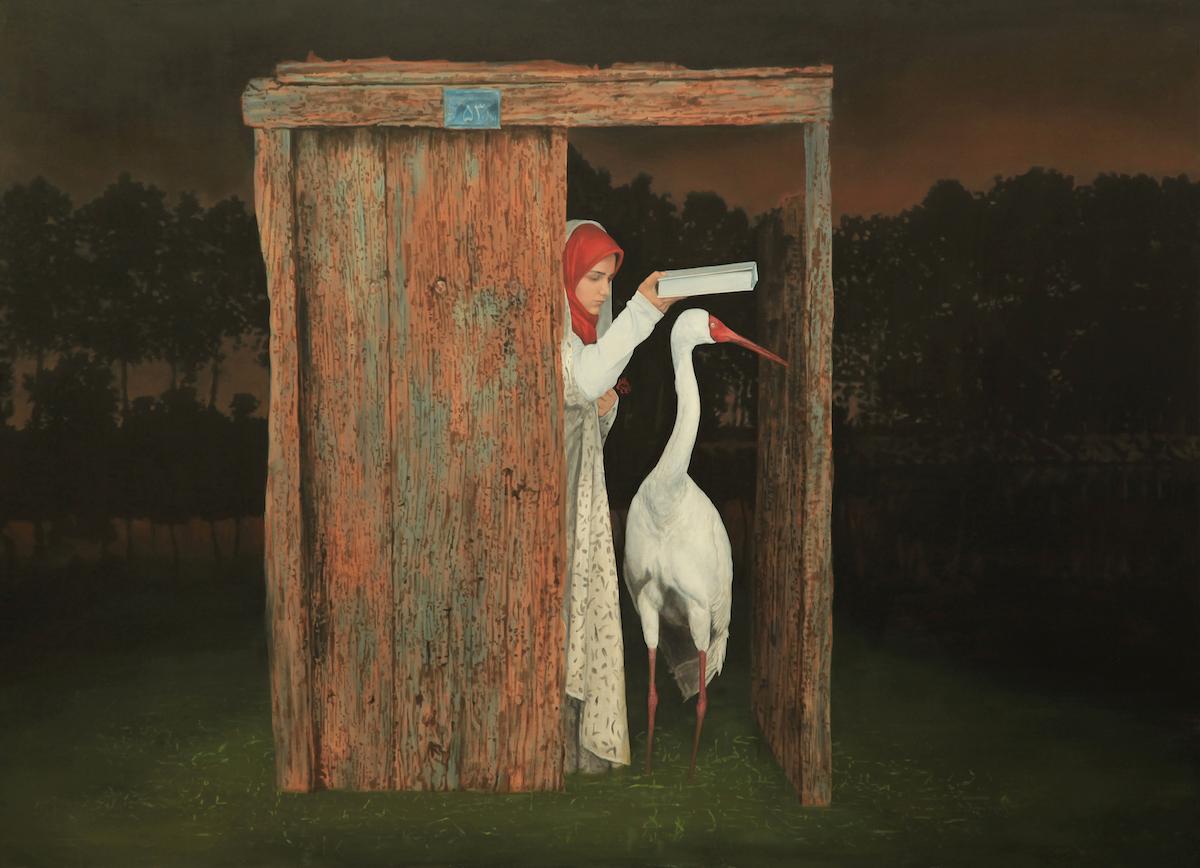 Siberian Crane, de Naeemeh Naeemaei