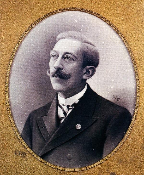 Albert Girard. Photo of the Library ofD. Carlos I Oceanographic Museum, Vasco da Gama Aquarium