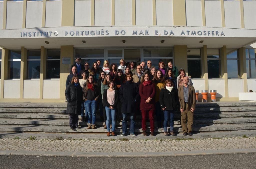 O primeiro encontro de participantes no GelAVista aconteceu em Dezembro