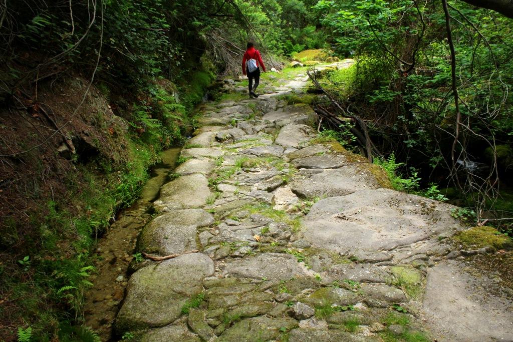 alguém_caminha_ao_longe_por_um_caminho_de_pedras