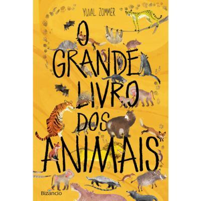 capa do livro o grande livro dos animais