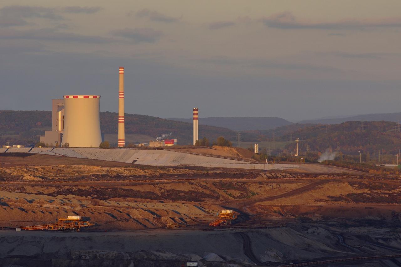 Unidade de exploração de carvão