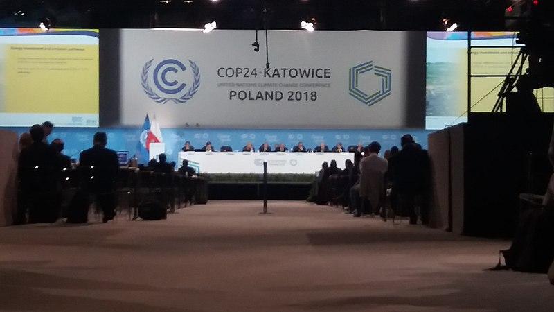 plenário da cimeira COP24